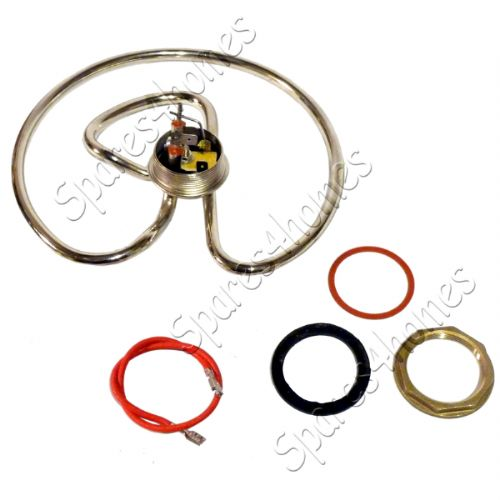 Burco Washboiler Hot Water Heater Element 2500w 2.5kw With Nut And Gasket